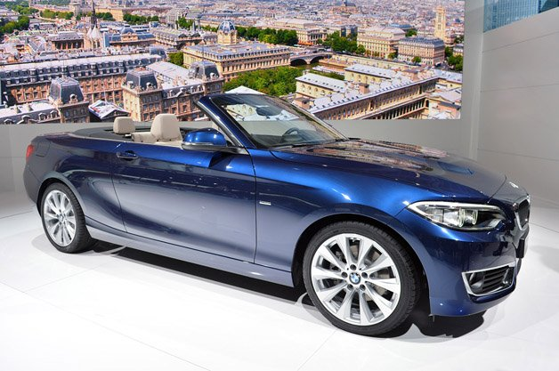 2015 BMW 2 Series Cabriolet Flips its Lid