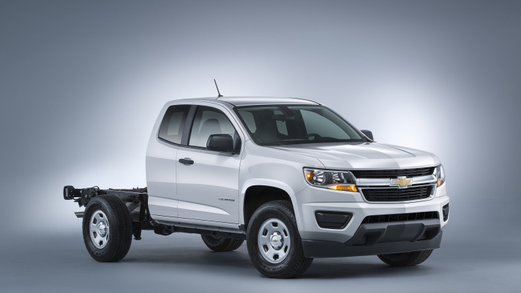 Chevy Colorado Gets Box Delete Option Designed for Upfitters