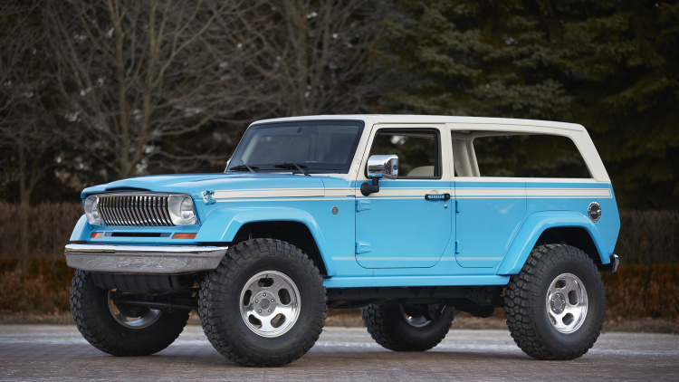 2015 Easter Jeep Safari Concepts Unveiled
