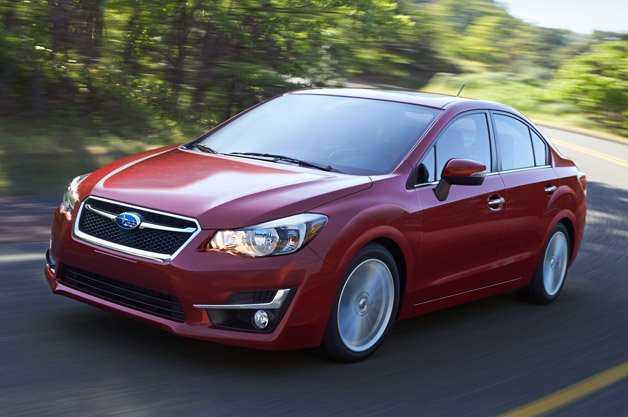 2015 Subaru Impreza Gets Visual Tweaks, Added Refinement