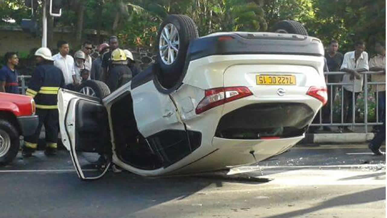 Accident Spectaculaire A Piton