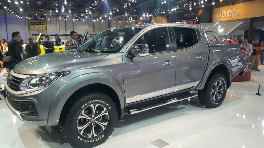 fiat fullback to launch in south africa in q3 2016 localis. Black Bedroom Furniture Sets. Home Design Ideas