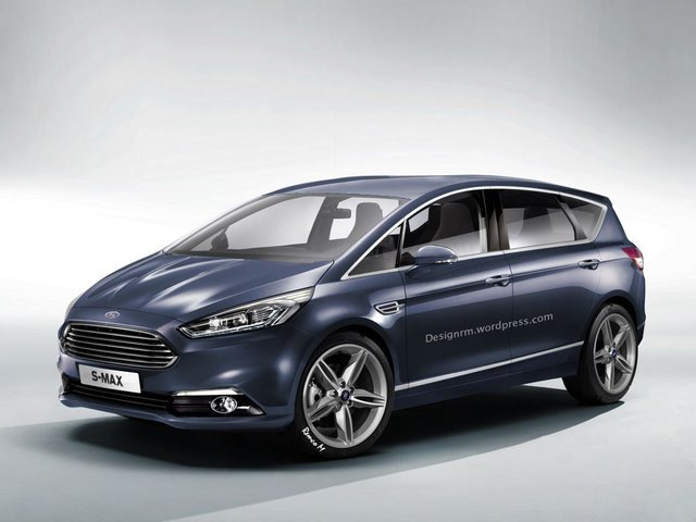 Rendering: Next-Gen Ford S-Max Is the Best Looking MPV Ever!