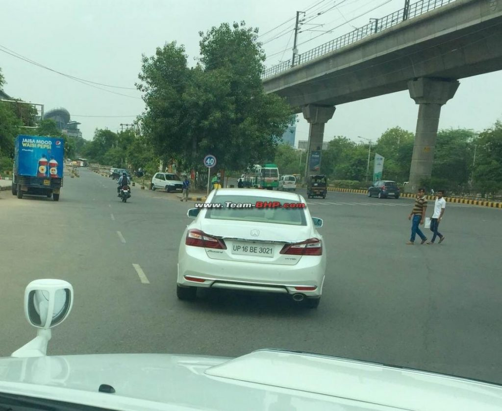 2016 Honda Accord Spied In India For The First Time
