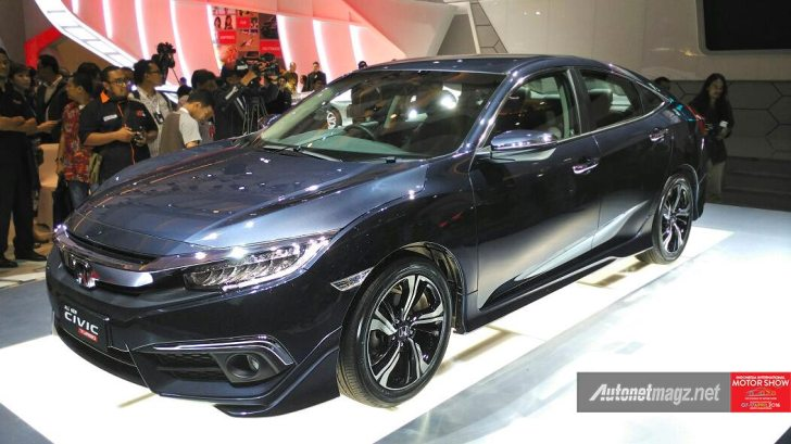 2016 Honda Civic Launched In Indonesia