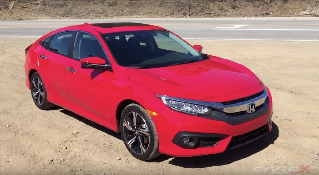 2016 Honda Civic Exterior And Interior Walkthrough