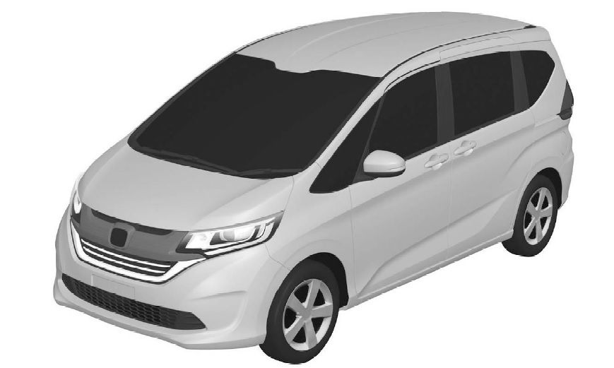 2016 Honda Freed MPV's Patent Design