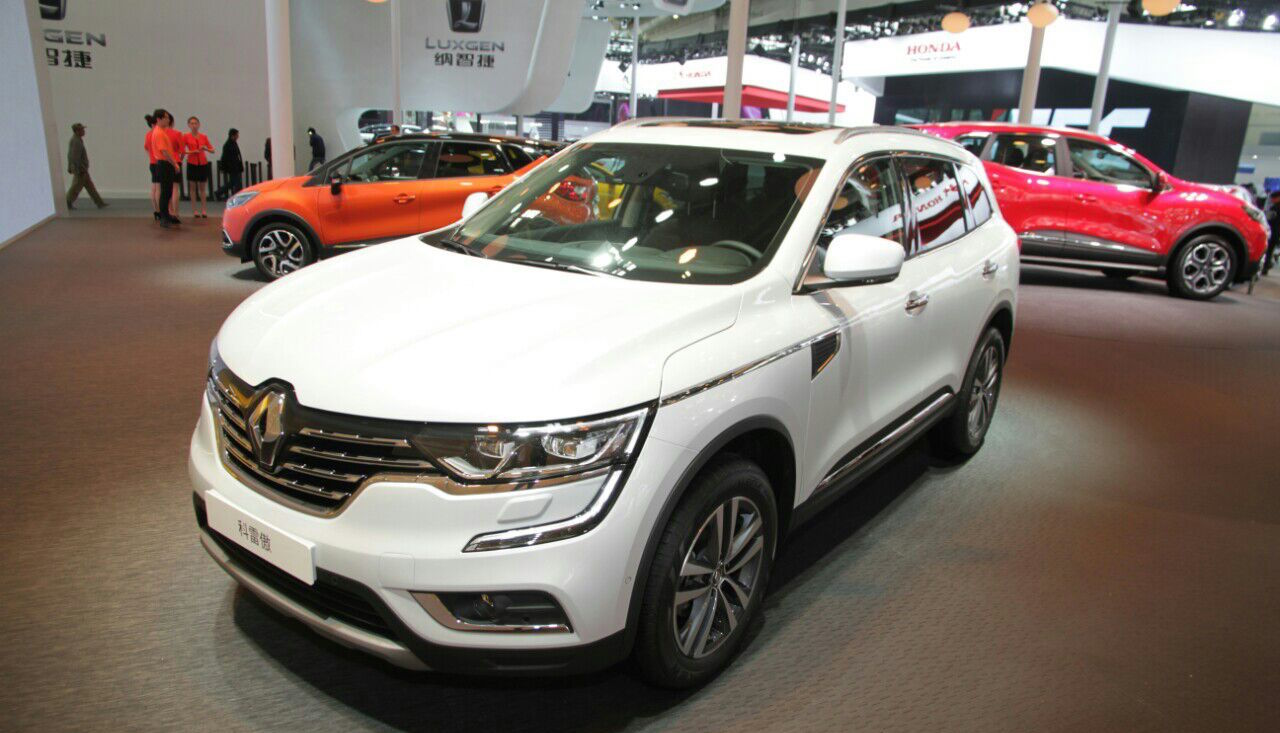 India-Bound 2016 Renault Koleos