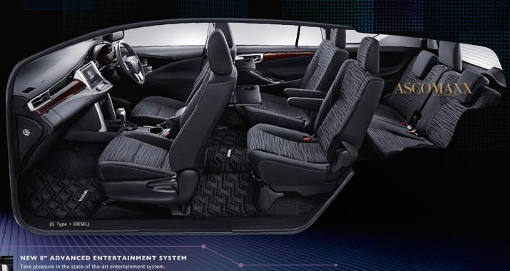 2016 Toyota Innova Was Designed Keeping Rear Seat Comfort as Priority