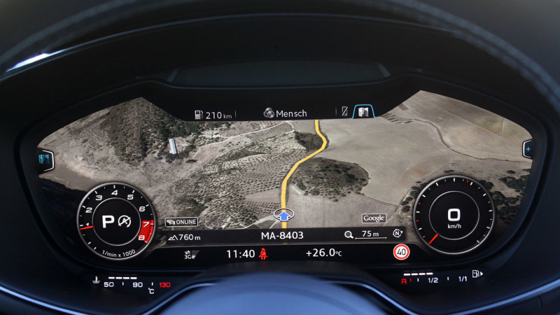 Audi A3 Gets Virtual Cockpit Next Year