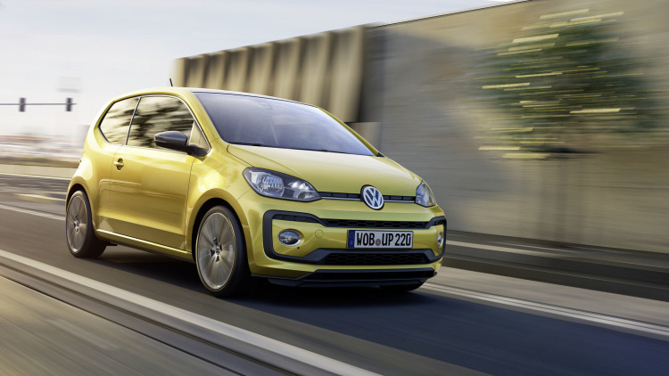 VW Updates the Up With More Power, Sharper Style