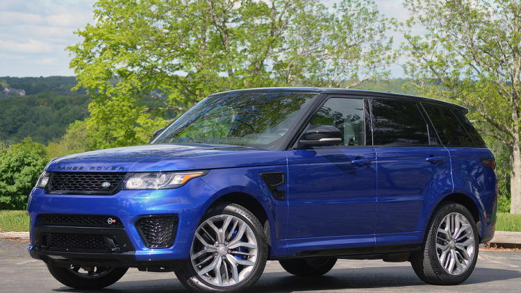 Range Rover Sport SVR Tipped To Get F-Type's 575-hp V8