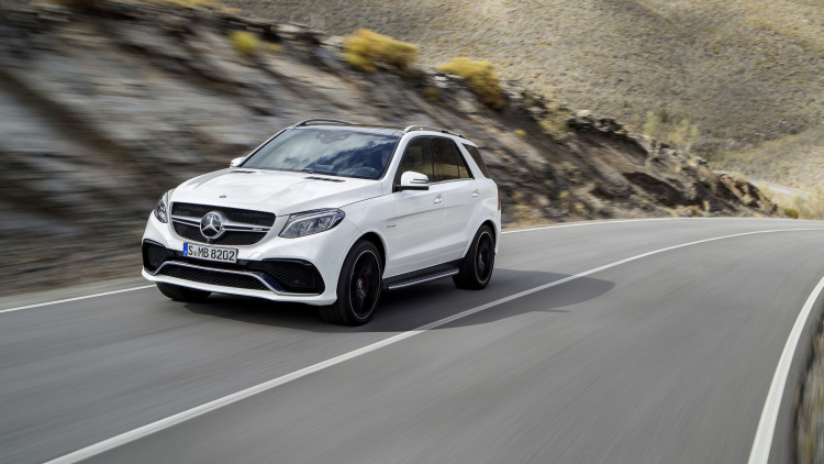 Mercedes-Benz GLE Gets Official Before NY Show