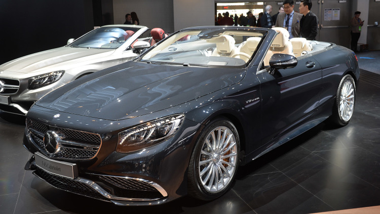 Mercedes-AMG S65 Cabrio is the Ultimate V12 Droptop
