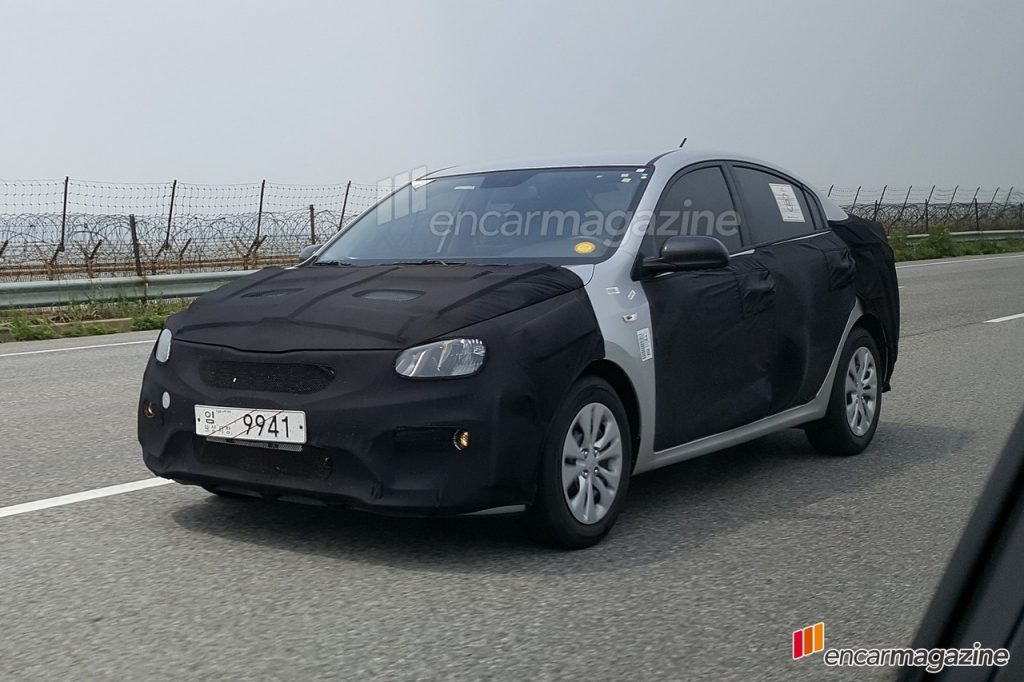 2017 Kia Rio Sedan Spotted For The First Time