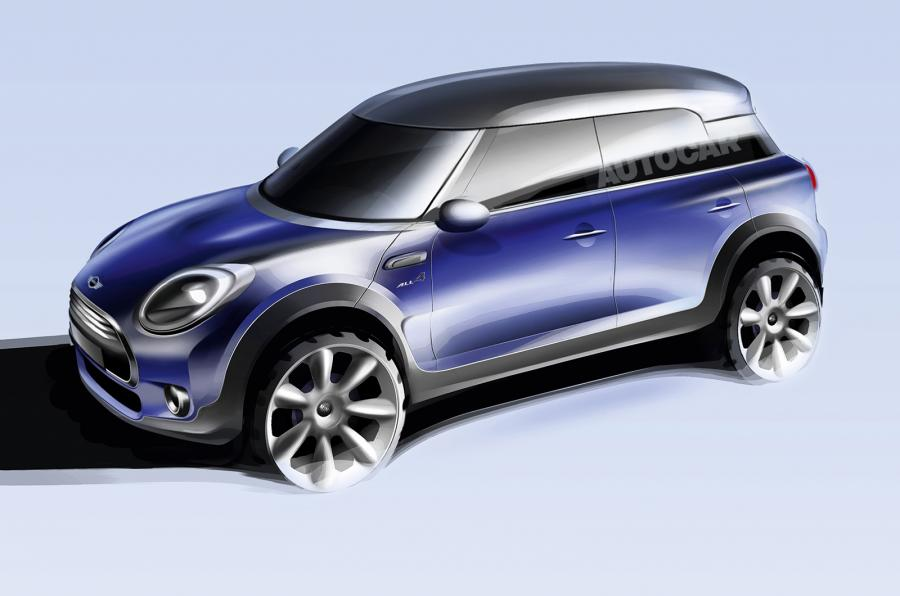 2017 Mini Countryman Rendering