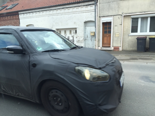 2017 Suzuki Swift Spied Testing In Europe