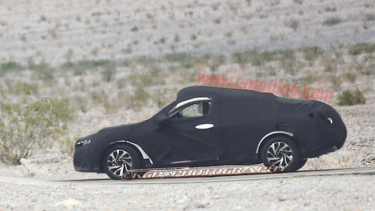 2017 Honda Civic Coupe Spotted for the First Time