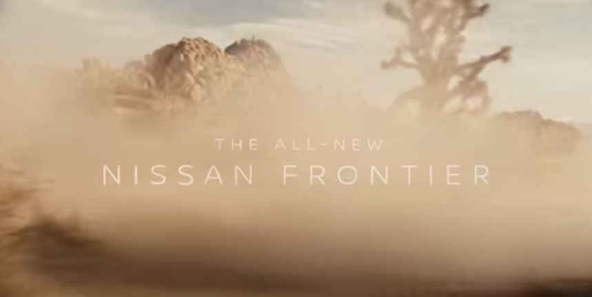 2022 Nissan Frontier Teased Having Fun In The Sand