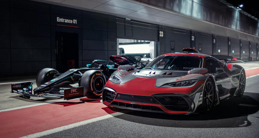 New video shows Mercedes-AMG One hypercar on track