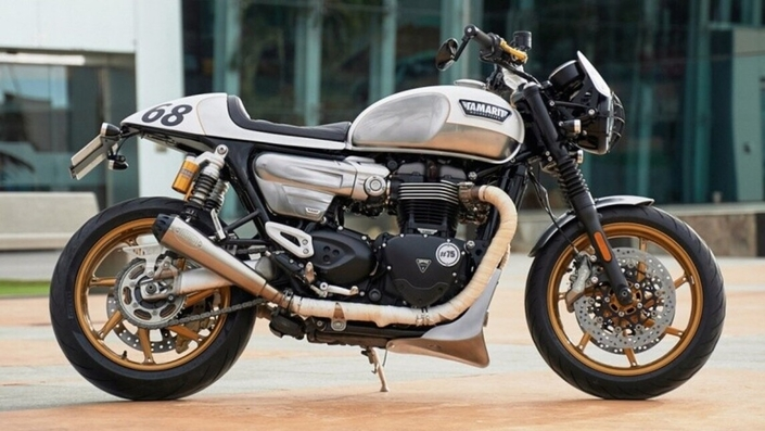 La Triumph Speed Twin version Café Racer signée Tamarit.