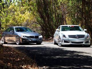 Double Tuner Showdown: BMW 3 Series vs. Cadillac ATS