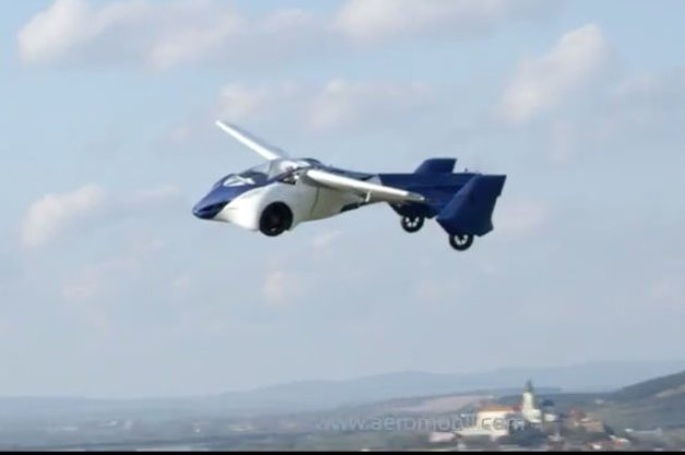 AeroMobil 3.0 Flying Car Appears to Work