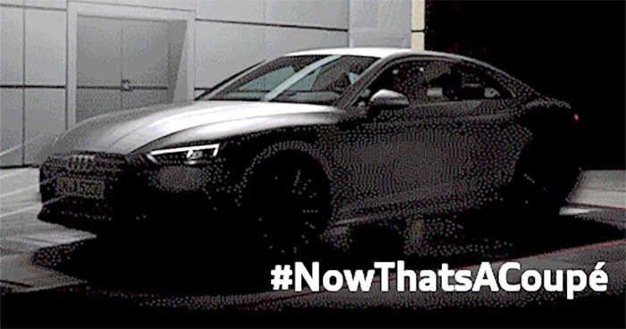 2016 Audi A5's Headlights And Exterior Teased