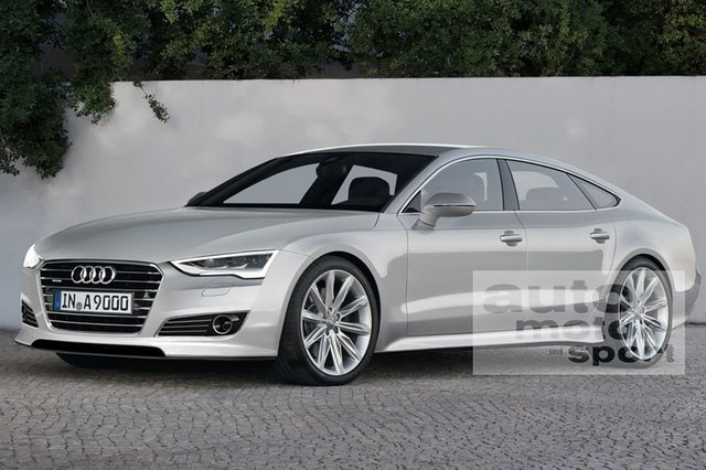 Rendering: Audi A9 to Be Based on the Next Gen Q7 (localized)