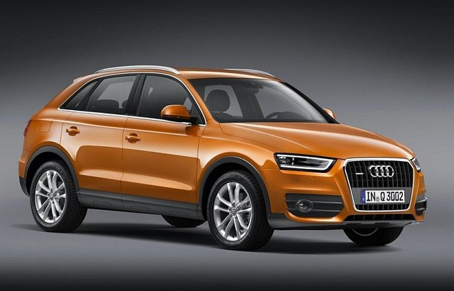 Audi Q3 comes in early 2012