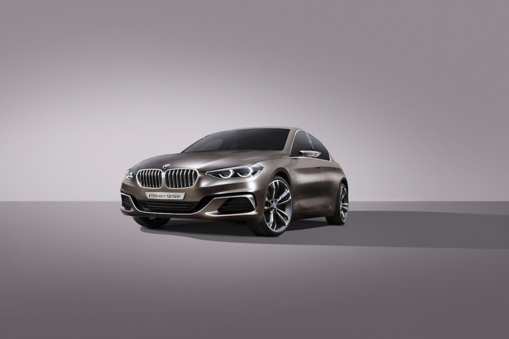 BMW Compact Sedan Concept Unveiled
