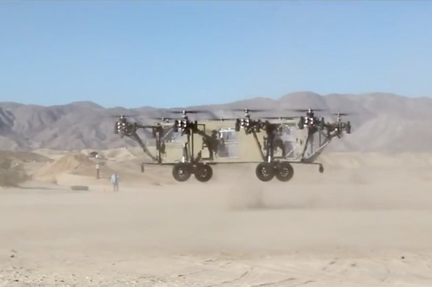 Black Knight Autonomous Flying Transport Truck Must Be Seen to Be Believed