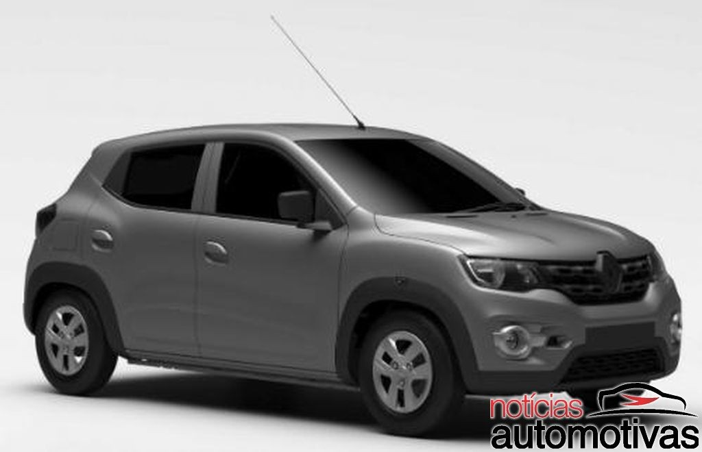 South American-Spec Renault Kwid Patent Images Leak