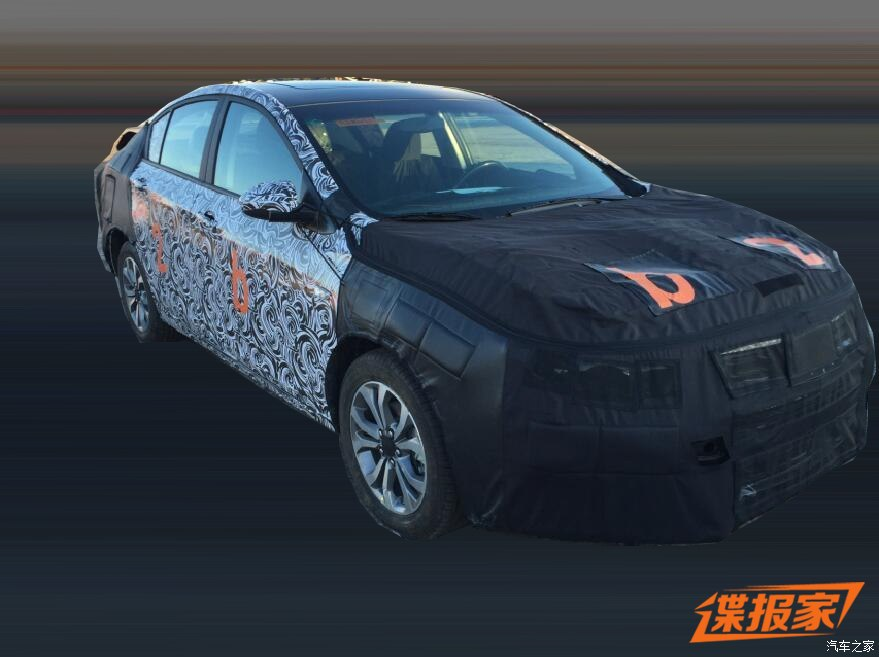 Spyshots Show The Chevrolet 'Cavalier' Nameplate Resurrected In China