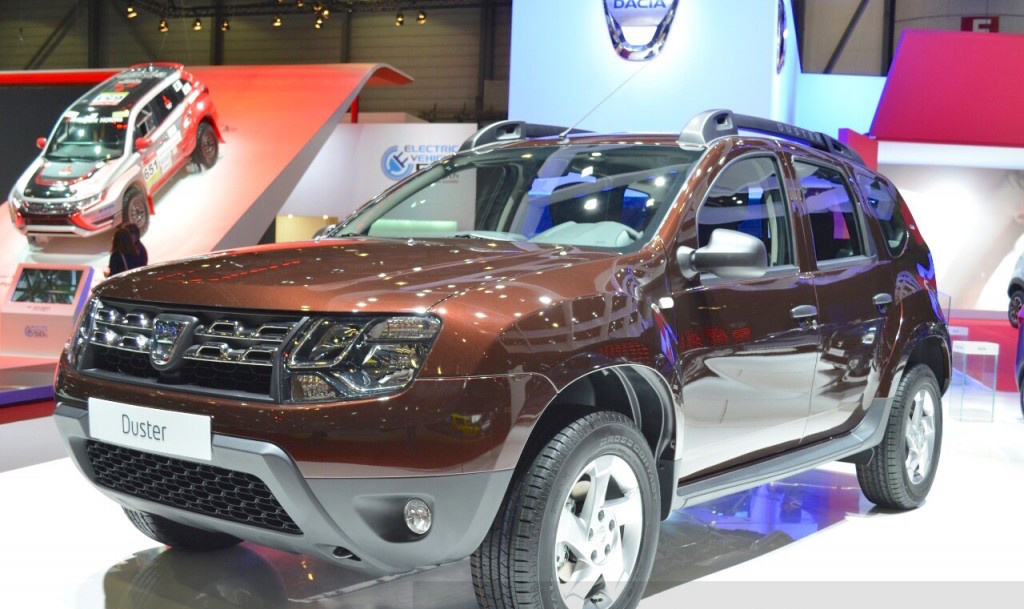 Geneva Motor Show: Dacia Duster Essential (Limited Edition)