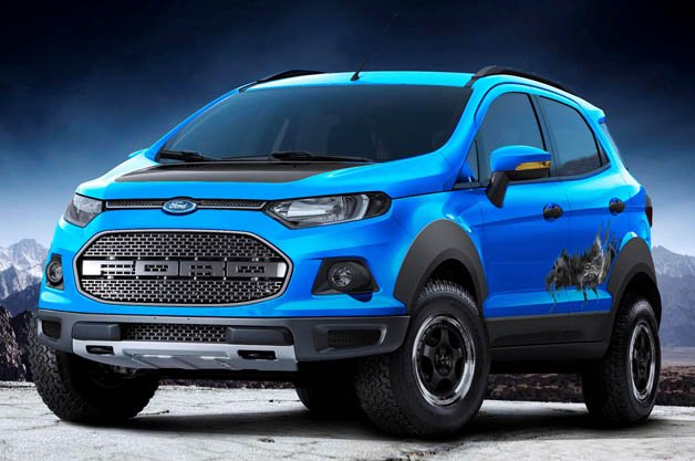 Ford EcoSport Storm Concept Swallows a Raptor in Sao Paulo