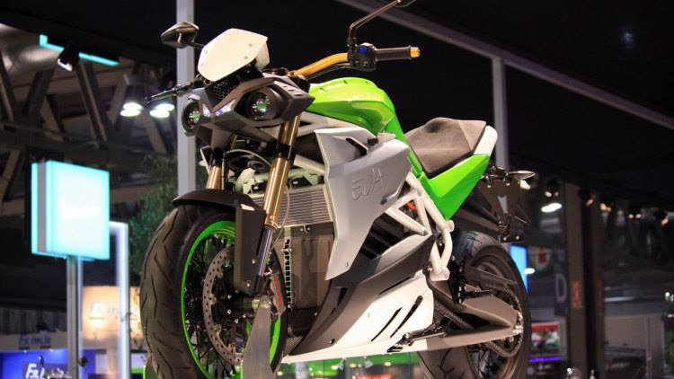 Energica Debuts its Naked Eva in California