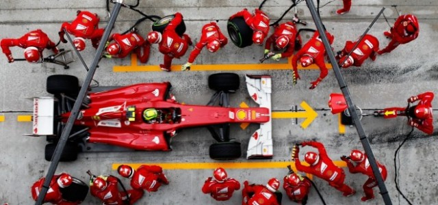 Watch this Comparison of Pit Stops from Across Motorsports