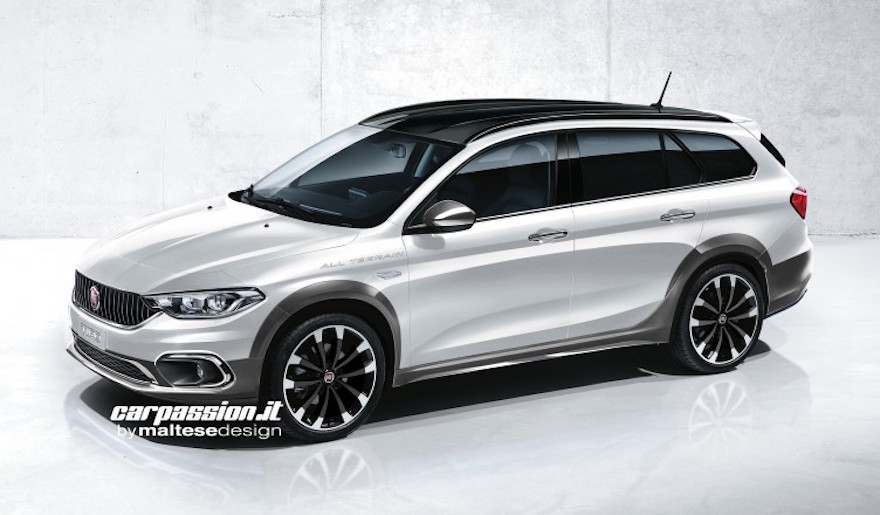 Rendering: Fiat Tipo Estate Allroad