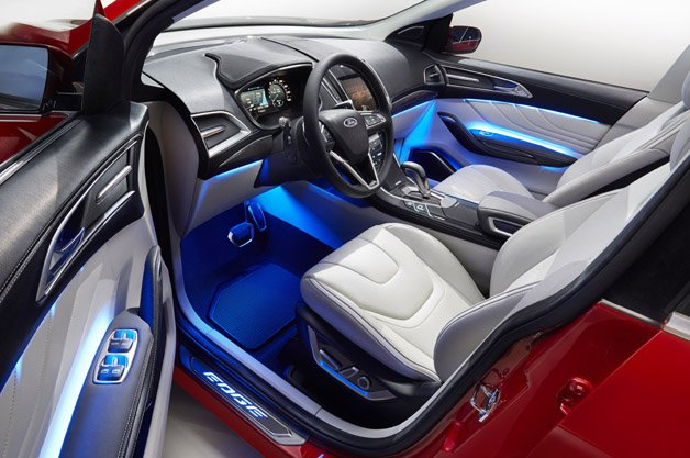 Your Next New Car Could Have an Interior That Changes Colours