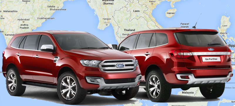 Ford To Invest $169 Million In South Africa To Build Everest SUV