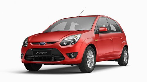 Ford Figo on the tops in India