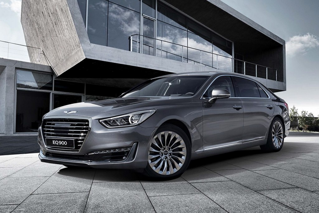 Genesis G90 (Genesis EQ900) Unveiled, Arrives in H2 2016 for Global Markets