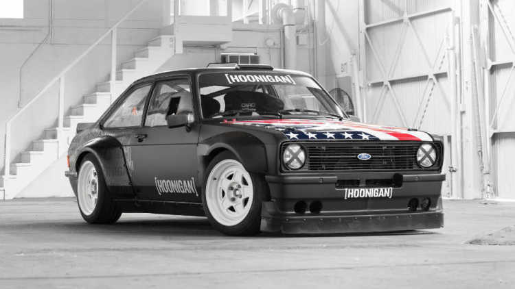 Ken Block's New Gymkhana Ride is a 1978 MkII Ford Escort RS