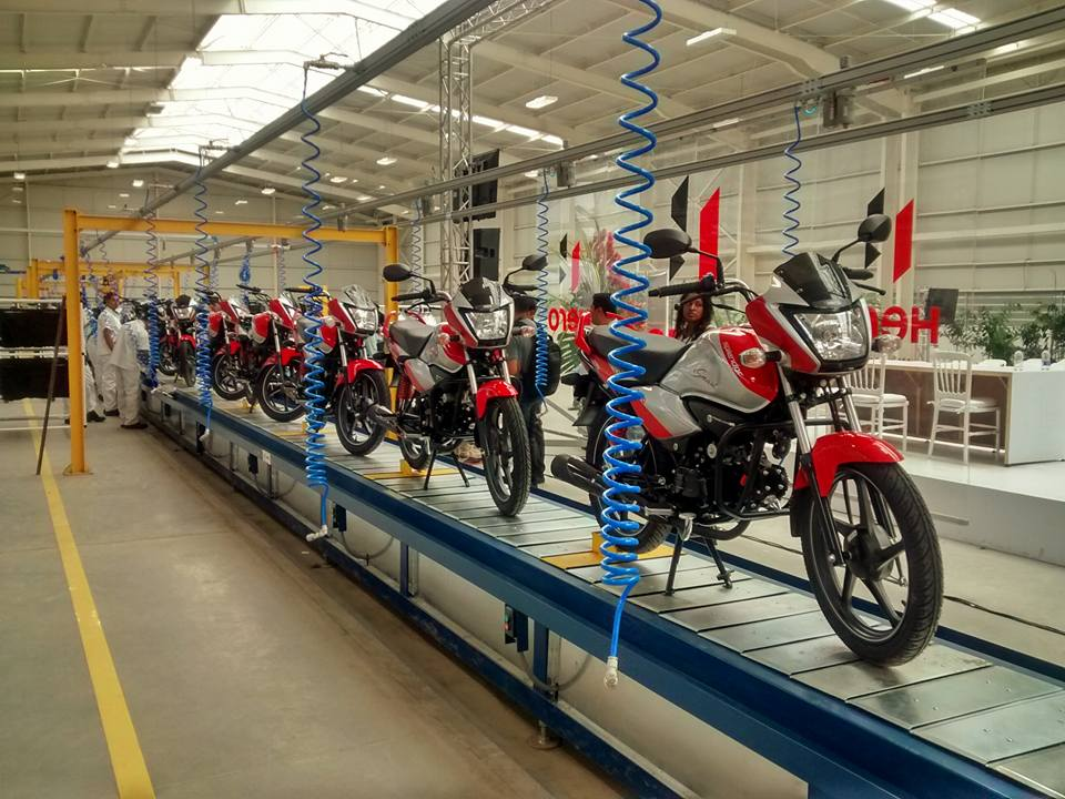 Hero Inaugurates Colombian Plant, Will Manufacture 10 Models