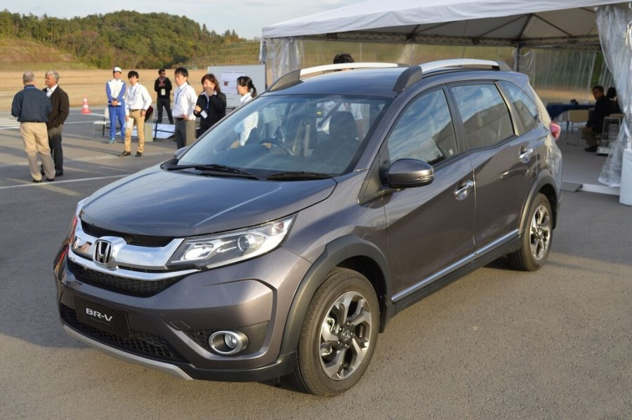 India-Bound Honda BR-V Showcased in Japan