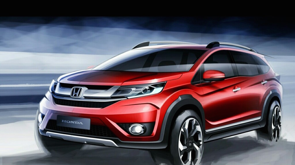 Honda BR-V Crossover Will Also get a 1.8L Petrol Engine Shared with HR-V – Report