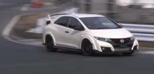 Watch The Latest Civic Type R Hit The Track In Japan
