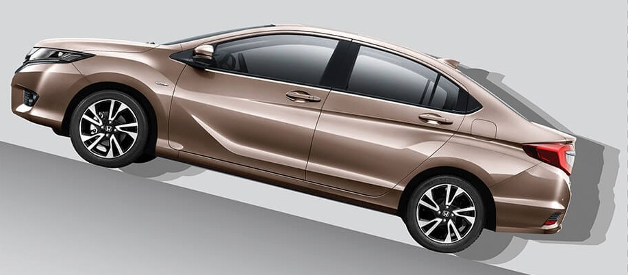 Honda Greiz (Redesigned Honda City) Gets Detailed