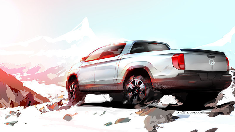 Honda to Show Off Conceptual New Ridgeline Truck at SEMA